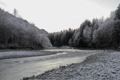 Canadian Winter on the River || Vancouver Island, BC