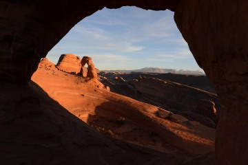 Window to Delicate Arch || Arches NP