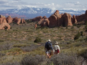 Hiking Arches || Arches NP