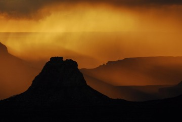 Sunset Storm on South Rim || Grand Canyon NP