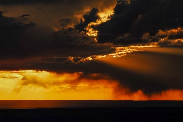 Storm at Sunset || Grand Canyon NP