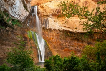 Morning at Lower Calf Creek Falls || Grand Staircase-Escalante NM