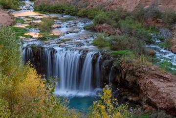 Falls along Havasu Creek || Havasu Canyon