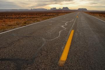 Scenic Drive to Monument Valley || Arizona