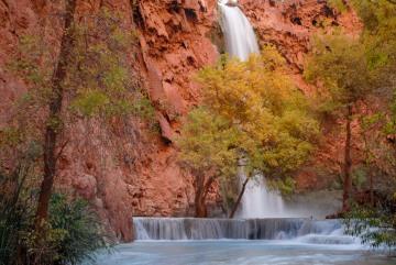 Autumn Pools at Mooney Falls || Havasu Canyon