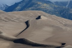 Sand Dune Shadows under the Sangres || Great Sand Dunes NP