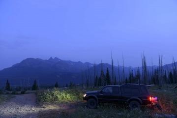 Camping in Beartooth Mountains || Montana