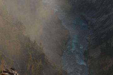 Grand Canyon of the Yellowstone || Yellowstone NP