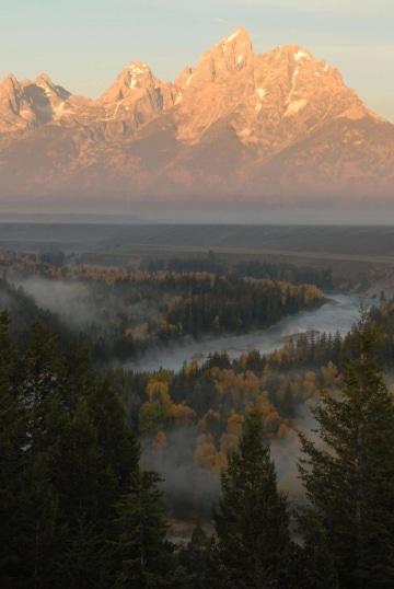Grand Tetons and the Snake River || Grand Teton NP