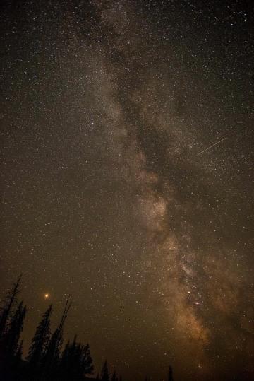 Milkyway Gallaxy || Grand Teton NP