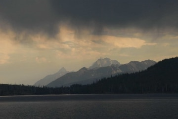 Storm Clouds over Jackson Lake || Grand Teton NP