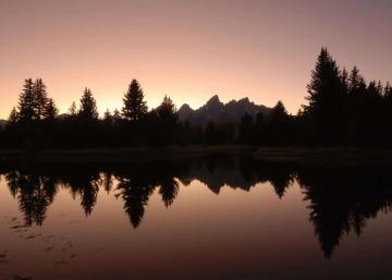 Sunset at Schwabacher Landing || Grand Teton NP