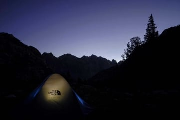 Tent in Tetons || Grand Teton NP