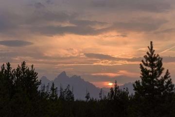 Teton Sunset || Grand Teton NP