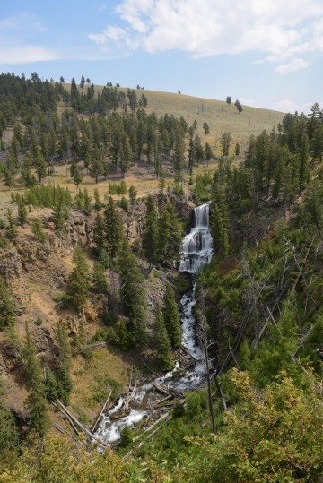 Undine Falls || Yellowstone NP