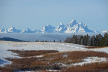 Winter in the Tetons    Wyoming