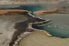 Doublet Pool at Upper Geyser Basin || Yellowstone NP