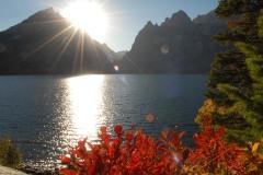 Sun over Jenny Sake || Grand Teton NP