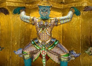 Khon Figures || Wat Phra Kaeo