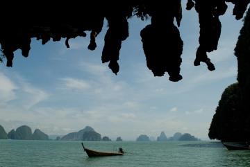 Phang Nga Undercut Cliffs || Phang Nga Bay