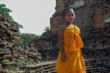 Young Monk || Wat Phra Sri San Phet