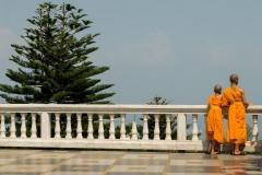 Monks at Wat Phrathat Doi Suthep || Chiang Mai