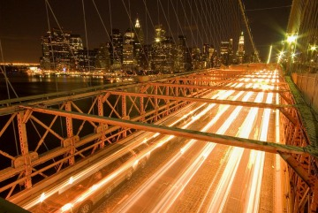 Brooklyn Bridge at Night || New York City