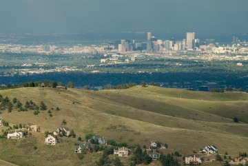 Denver Skyline from Genesee || Colorado