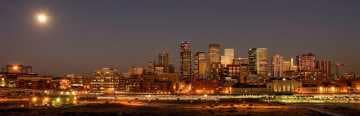 Glasshouse Skyline Pano || Denver