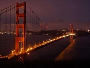 Golden Gate Bridge at Night || San Francisco