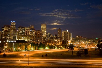Night Falls on the Mile High City || Denver