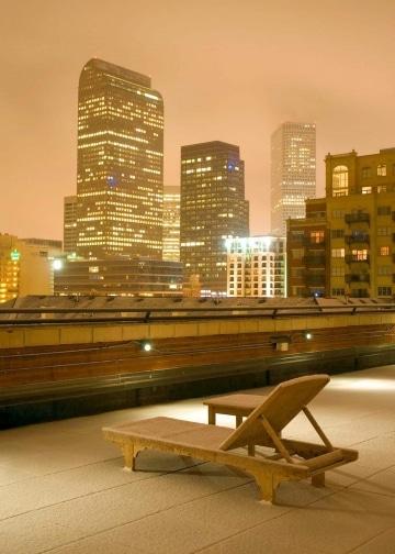 Rooftop Snow || Denver