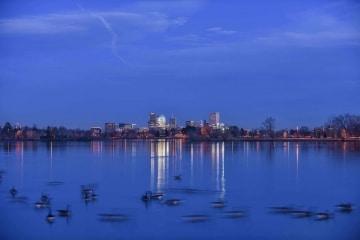 Sloan's Lake Skyline || Denver