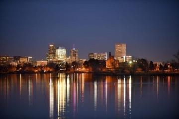 Sloan's Lake Skyline Twilight || Denver