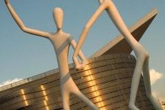 Dancing Aliens Statues || Denver