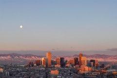 Morning Light on the City || Denver