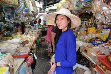 Ann in Market || Ho Chi Minh City