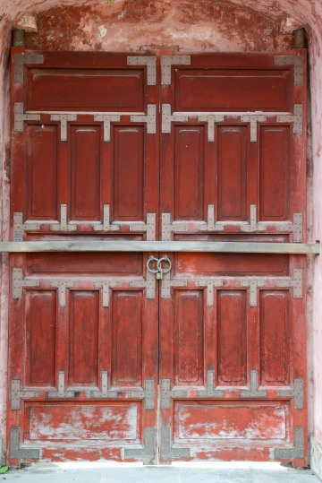 Old Door at Imperial City || Hue