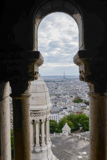 Eiffel Tower Framed from Montmartre || Paris