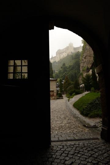 Fortress Hohensalzburg Through Door || Salzburg