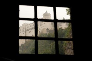 Fortress Hohensalzburg Through Window || Salzburg