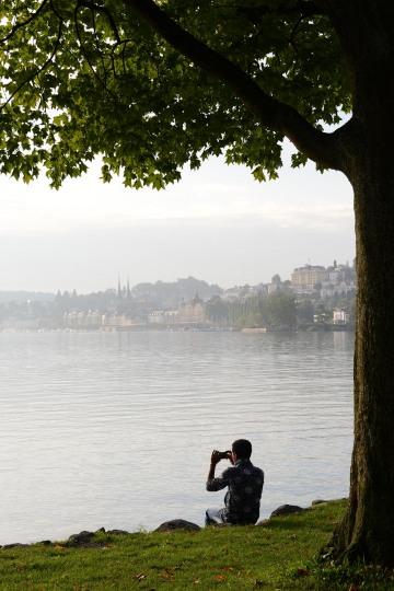 Photographing Lake Lucerne || Switzerland