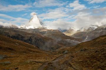 The Matterhorn in Clouds || Zermatt, Switzerland