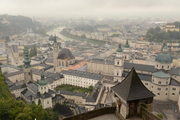 View of Salzburg from Fortress || Austria