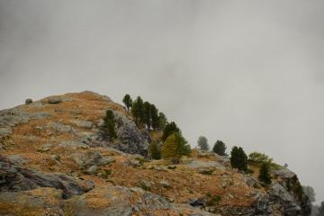 Zermatt Mountains in Clouds || Switzerland