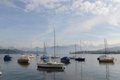 Boats on Lake Lucerne || Switzerland
