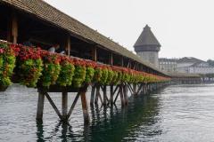 Chapel Bridge || Lucerne, Switzerland