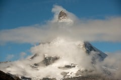 Clouds Shroud The Matterhorn || Switzerland