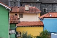 Colorful Houses in Locarno || Ticino, Switzerland