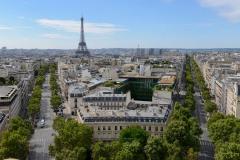 Eiffel Tower and City Block || Paris